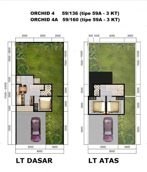 citra indah city cluster orchid  58310162