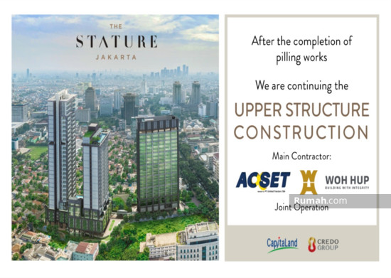 The Stature jakarta Main Contractor 86708055