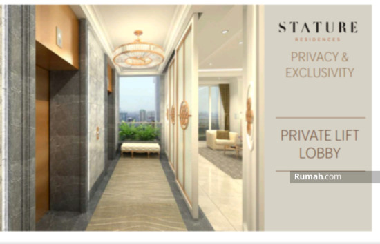 The stature jakarta Private lift lobby 86708665