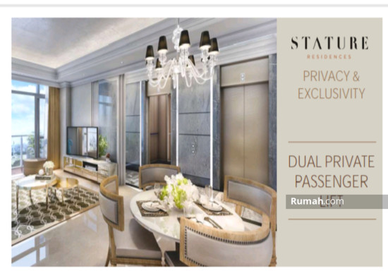 The stature jakarta Dual Private Lift 86708666