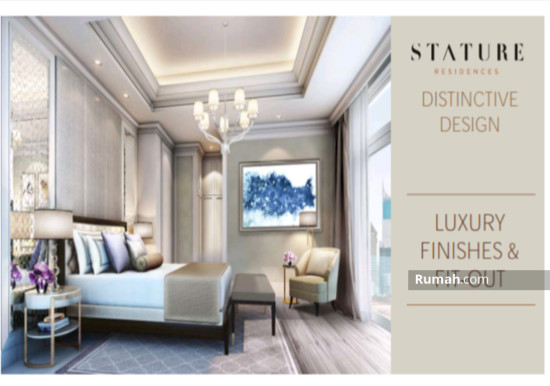 The stature jakarta Luxury Fit out 86708667