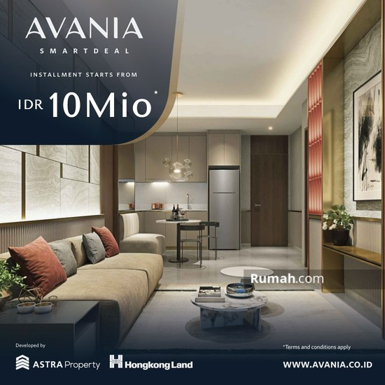 APARTEMEN AVANIA SEMI FURNISHED   97235417