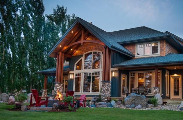 memahami definisi dan ciri khas gaya rustic rumah dan
