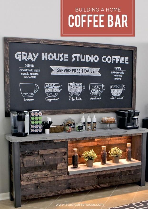 coffee bar. Intip Ide \u201cCoffee Bar\u201d Di Rumah Coffee Bar