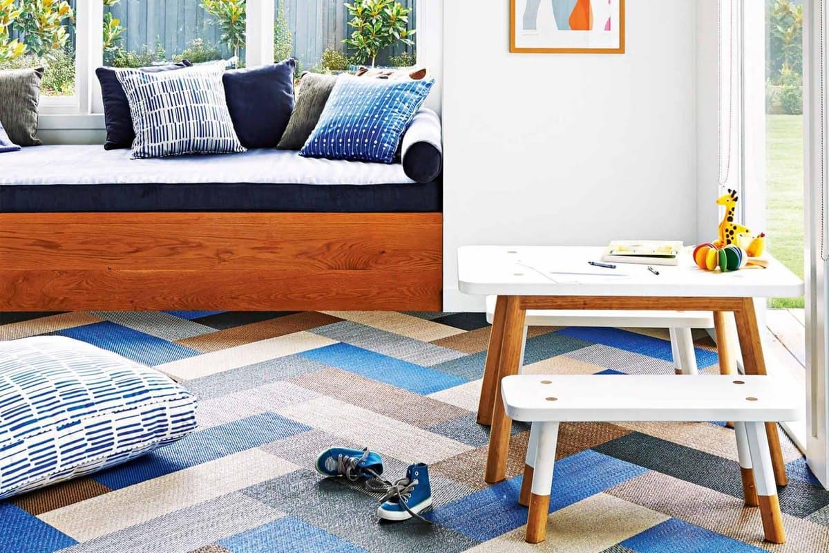 Lantai Makin Atraktif dengan Karpet Ubin Rumah dan Gaya