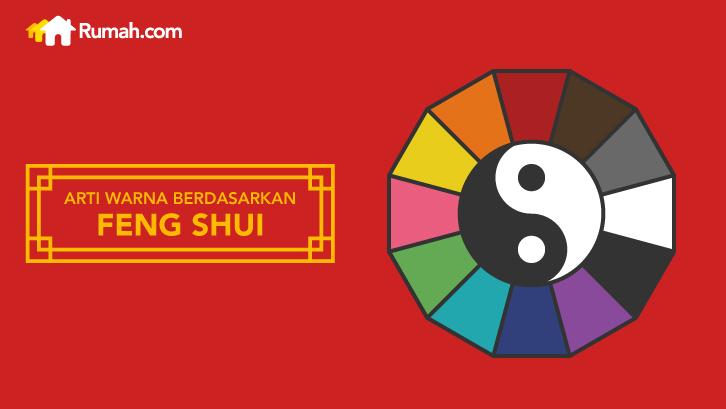 infografis arti warna berdasarkan feng shui tips