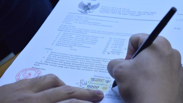 Contoh Surat Perjanjian Jual Beli Ruko Rumahcom