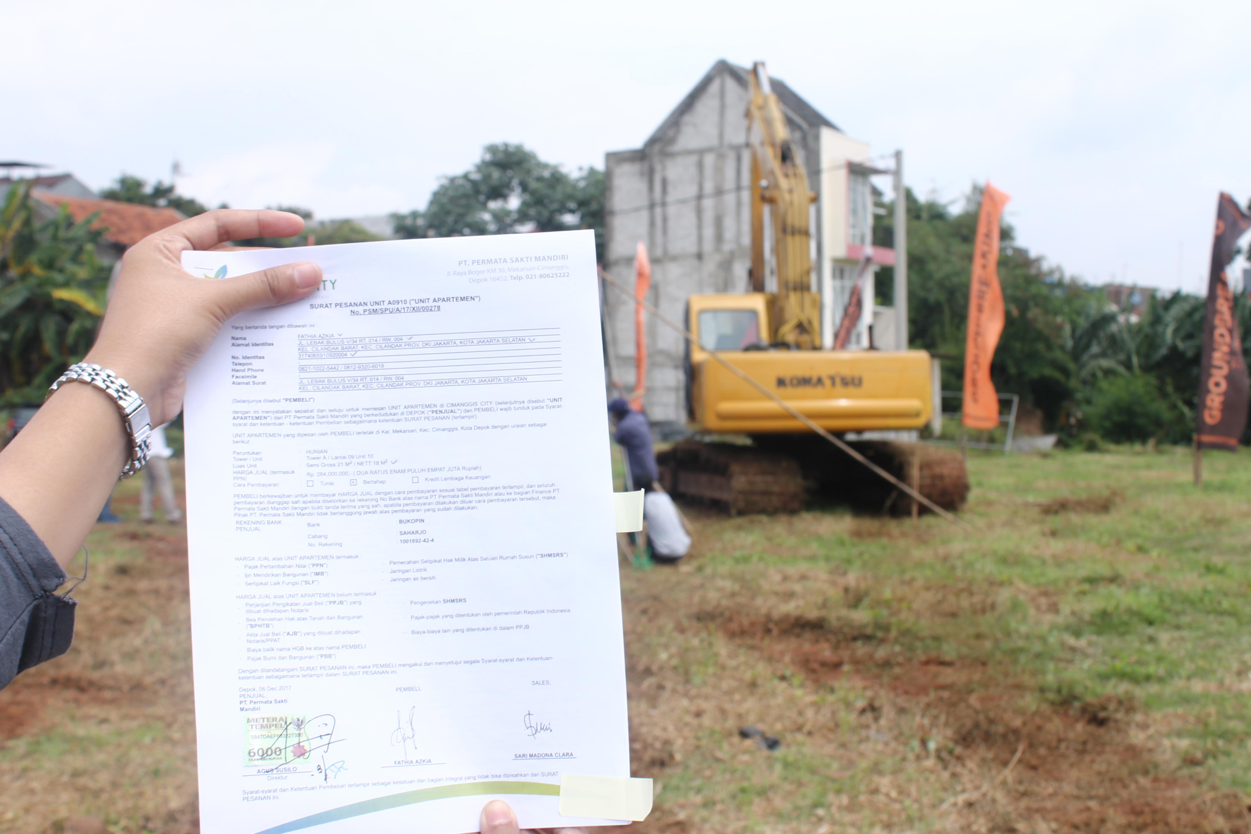Contoh Surat Perjanjian Sewa Tanah Rumahcom