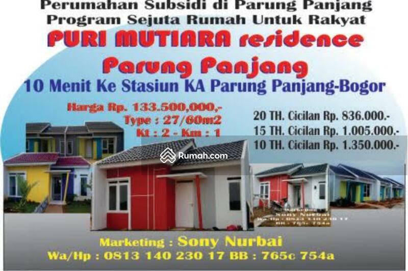 Rumah Subsidi di Parung Panjang Bogor, Cibulan Parung ...