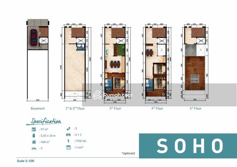 SOHO (Small Office Home Office) 5 Storey FOR SALE, Dijual SOHO 5 ...