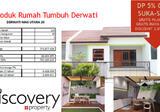>> DIJUAL Rumah tumbuh Derwati Mas, dekat pusat pemerintahan, investasi terbaik