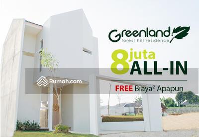 Dijual - 8jt ALL-IN   Greenland Forest Hill Residence - Bogor