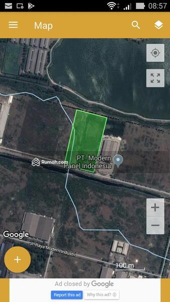 lahan industri di modern cikande industrial estate #87823403