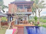 For sale ID:XP-03 villa BUC view sawah  di ubud gianyar bali central ubud sukawati