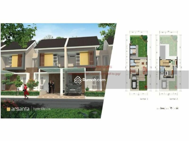 Dijual Rumah Cluster Samata Type Arsanta 2 Lantai di ,Harapan Indah Bekasi Barat MD697 #90056523