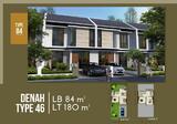 >> Perumahan design modern 1 M an, jalan utama Kolonel Masturi, dekat Cipageran dan Sangkuriang