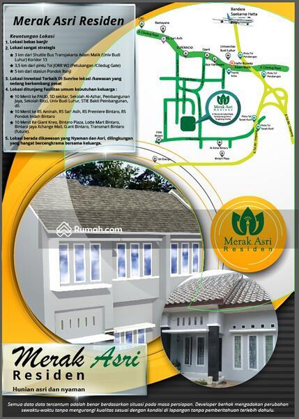 Rumah Asri, Indent, hook, best view, terbukti lokasi Investasi terbaik #90730877