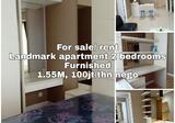 Apartemen Siap Huni di Landmark Residence