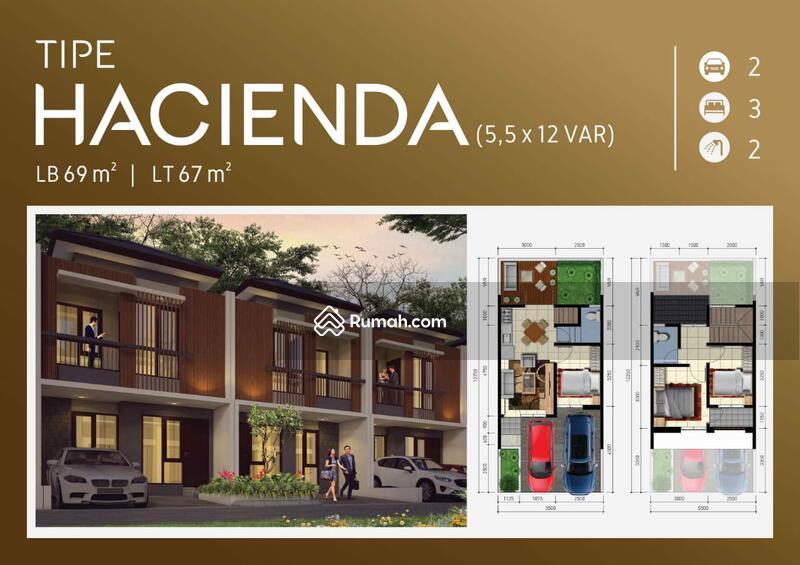 The Patio Residence Rumah Murah di Area Serpong #93403853