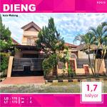 Rumah 2 Lantai Luas 170 di Lembah Dieng kota Malang _ 212. 19