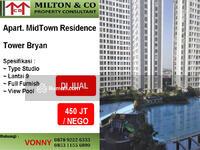 Dijual - Dijual Apartemen Midtown Tower Bryan Lt. 9