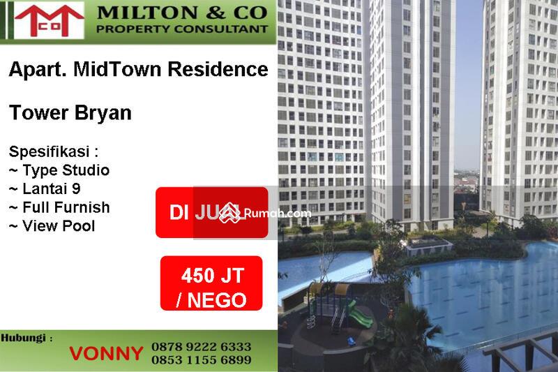 Dijual Apartemen Midtown Tower Bryan Lt.9 #91983441