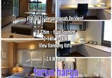 Dijual Apartment Hegarmanah Residence, Cidadap, Bandung
