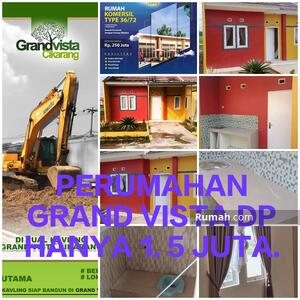 Dijual - Perumahan Subsidi Grand Vista Cikarang DP Cuma 1. 5 Juta Bekasi