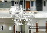 Dijual Rumah Kresna Pajajaran Bandung