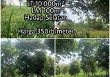 Dijual Tanah Purwakarta 350rb/meter