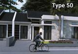 Dijual Rumah Baru Ciwaruga Bandung Utara Dekat Setra Duta