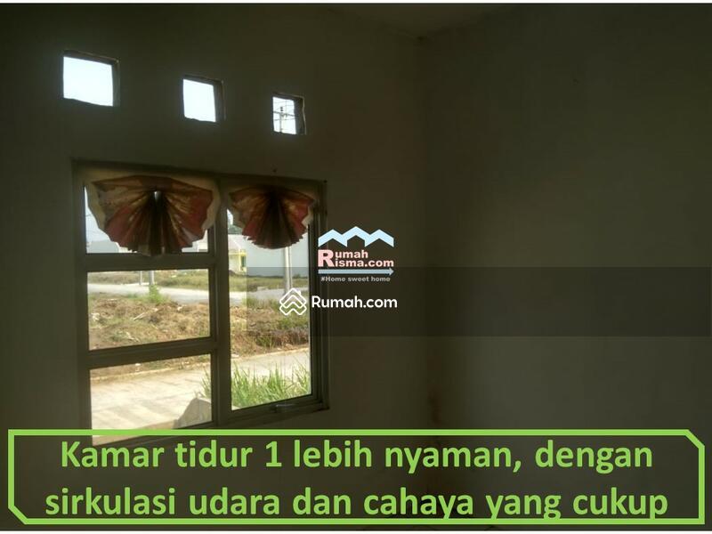 kamar utama lebih nyaman dengan jendela dan fentilasi udara lebih lebar