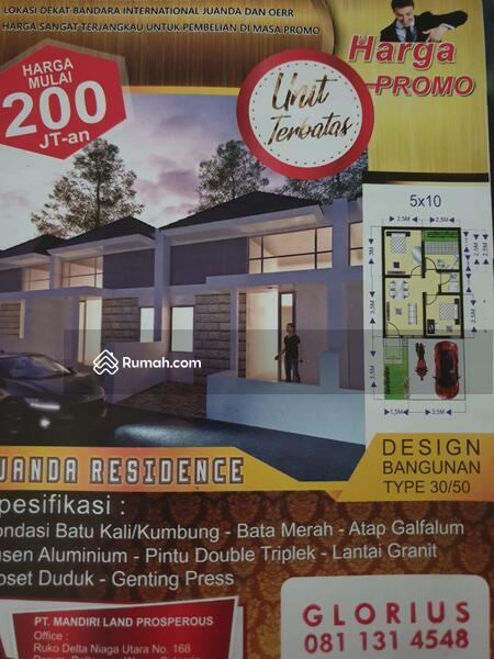 Rumah Juanda Murah Angsuran DP89jt #93333371