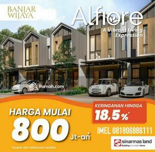 Dijual - Rumah millenial Sinarmas 800jt an Banjar Wijaya . Unit terbatas, perdana!