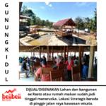 Dijual Atau Disewakan Ex Restoran Lokasi Strategis Di Kawasan Wisata Gua Pindul Gunungkidul Yogyakar