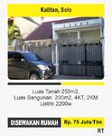 4 Bedrooms House Solo Kota, Surakarta, Jawa Tengah