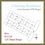 Tanah kavlingan Murah Di Kampus IPB Bogor, Diskon 25%