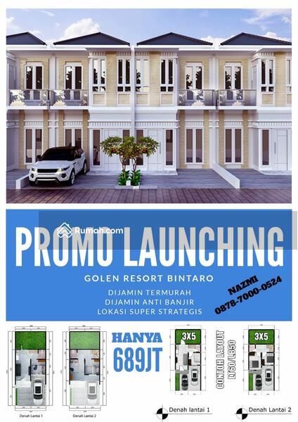 Golden Resort Bintaro Rumah TERMURAH Di PUSAT BINTARO #104534583