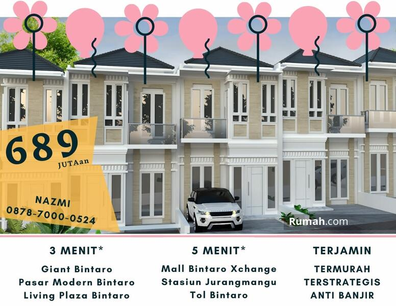Cluster Golden Resort Bintaro 2lantai TERMURAH Hanya 700jtan Dapatkan Cashback 20jt #104534757