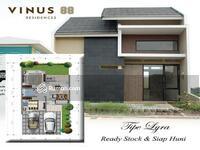 Dijual - Vinus 88 Masterpiece of Pamulang, Rumah di Pamulang dengan harga terjangkau