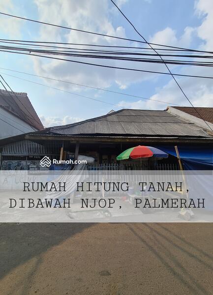 Harga di Bawah NJOP, Rumah Hitung Tanah di Palmerah, Cocok Dibikin Kos-kosan, Akses Jalan 2 Mobil #108114895