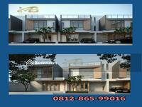 Dijual - Rumah 2 Lantai Lokasi Pinggir Jalan Raya Promo DP 0% Hanya 5 Menit ke MRT Lebak Bulus