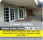 4 Bedrooms House Solo Baru, Surakarta, Jawa Tengah