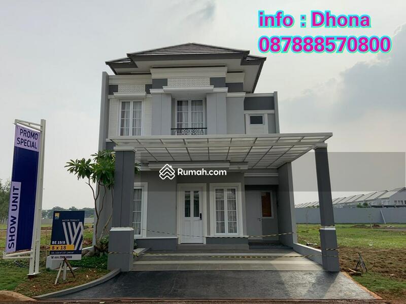Rumah Water Terrace Grand Wisata, DP ringan bisa KPR! #95556055