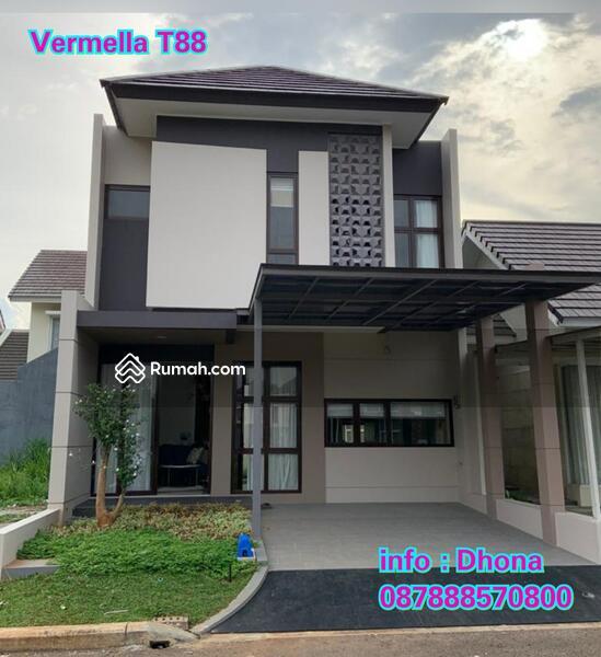 Rumah Vermella 2lt, cicilan dp ringan di Grand Wisata #95556711