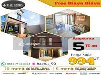 Dijual - Rumah Baru free ppn dp 5%