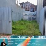 kavling tanah sudah padat siap bangun Tengah kota Ploso Timur Surabaya