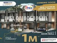 Dijual - Rumah Millenial Bsd City sebelah Aeon mall BSD harga 1 M an Perdana!