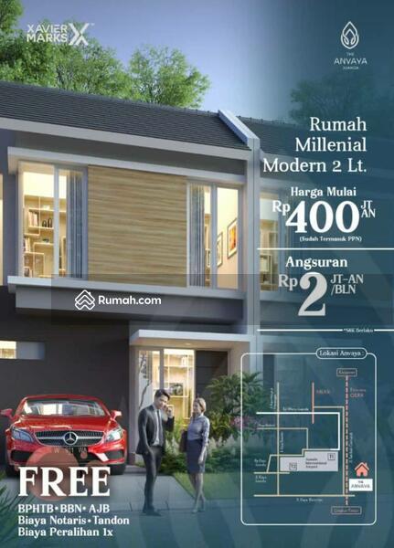 Jual rumah anvaya juanda samping bandara juanda harga 400jt an cicilan 2jt an #96632063