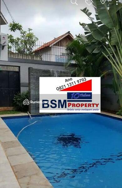 Dijual Segera Rumah Mewah 2 Lantai, Ada Kolam Renang & Taman Asri, Strategis di Kemang, Jaksel #98140551